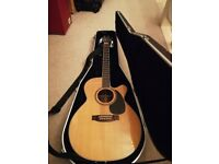 Takamine FD460SC electro-acoustic guitar - rare