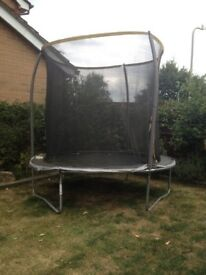 Trampoline 8ft with net