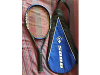 Tennis Racket: Dunlop 500g Hotmelt Tennis Racket