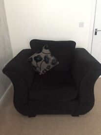 DFS 3 Seater & Chair