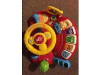 V tech toys - toot toot driver and aeroplane