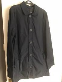 French connection trench coat size small