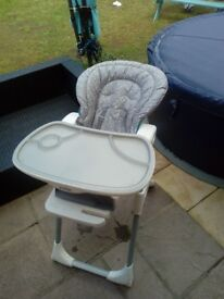 Joie reclining high chair