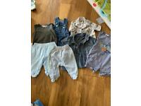 Baby boy clothing bundle various sizes