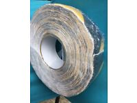 Large roll of commercial quality self adhesive flooring hazard tape £10