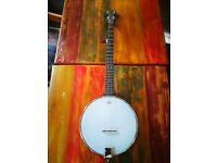 Gold Tone AC-1 Open Back 5 sting Banjo, Perfect Condition, Gig bag and Finger Picks