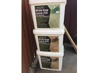 2 and a Half Tubs of Wide Gap Joint-Fill, All Weather Paving Compound