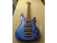 Tanglewood TE4 Bass Guitar - as new - with lots of extras - worth over £300