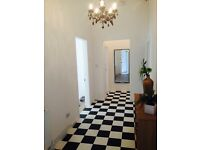 Spacious 2 double bedroom ground floor apartment in central penarth location