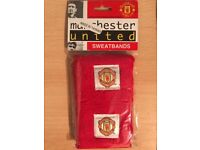 NEW SEALED OFFICIALLY LICENSED MANCHESTER UNITED (MAN UTD) WRIST / SWEAT BANDS
