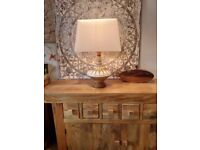 Lovely Table Lamp and Shade