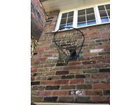 Basket ball/netball hoop.