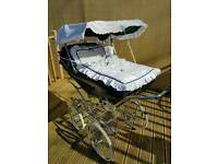Silver Cross Kensington coach built Pram