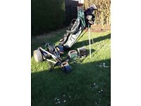 Powakaddy trolley with battery and charger plus full set of clubs and bag!