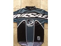 Motocross top and matching trousers