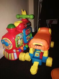 Black Friday steal!!! Vtech alphabet train walker
