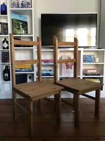 Dining Table Chairs (x2)