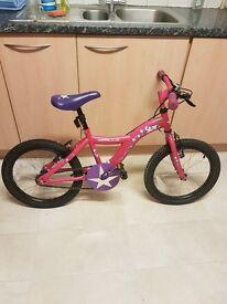 18 inch Halfords Star bike