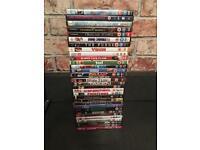 Job lot DVD's