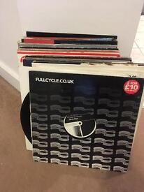Vinyl records DJ job lot