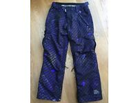 Women's Ride Snowboarding Pants Size M, Only Worn Once!