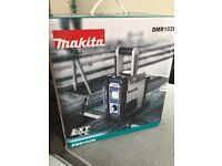 Brand new White Makita Radio