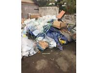 Rubbish removal uplift service