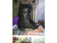 Atomic kush bla snowboading boots size UK 6.5