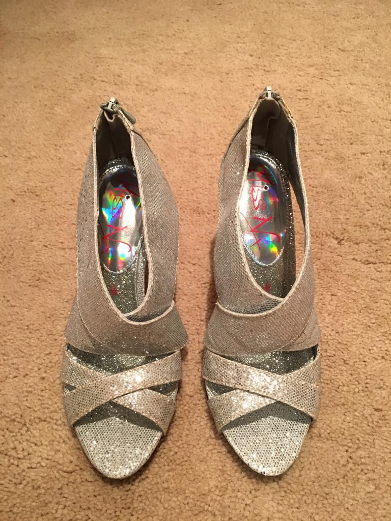 Brand New Silver Shoes