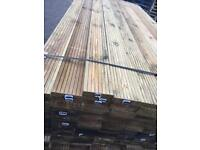 Decking, 5x1 Decking Planks 2.4 meters NEW redwood decking