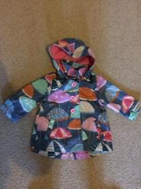Girl's 9-12 month Rain Coat - Next
