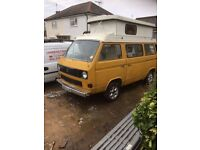 VOLKSWAGEN TRANSPORTER 78PS VINTAGE 1984 LIGHT VAN PETROL