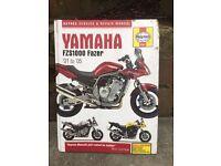 Haynes manual Yamaha FZS1000 & FAZER 2001 - 2005