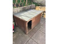 Large dog kennel/box