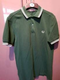 Fred Perry polo (green)