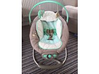 Ingenuity vibrating baby bouncer chair
