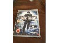 PS 3 CALL OF DUTY WORLD AT WAR - EXCELLENT CONDITION