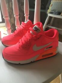 Neon pink Nike Air Max Size 3