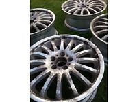 ALLOY WHEEL REFURBISHMENT SANDBLASTING POWDER COATING CAR AND BIKE PARTS