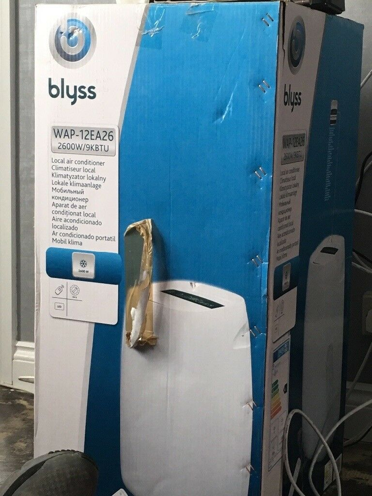 Blyss Air Conditioner Used A Couple Of Times In Brockworth