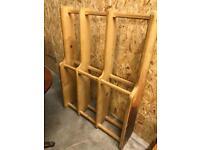 Pine wall storage
