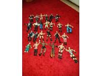 Wrestling figures bundle 74x