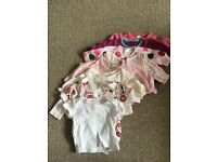 Baby girl clothes bundle 0-1 month