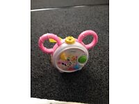 Disney Minnie Mouse crib/cot toy