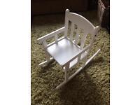 Ikea kids rocking chair