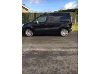 Black Citroen berlingo van with 14 months warranty
