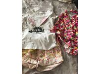 Girls summer bundle of clothes age 7/8 Next, M&S and Roxy