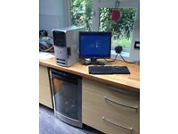Dell tower and monitor