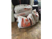 Free bags of multiFinish plaster