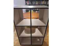 Tylko Type02 Bookcase/Sideboard, Sand + Midnight Blue, Fantastic Quality, Super Easy To Assemble